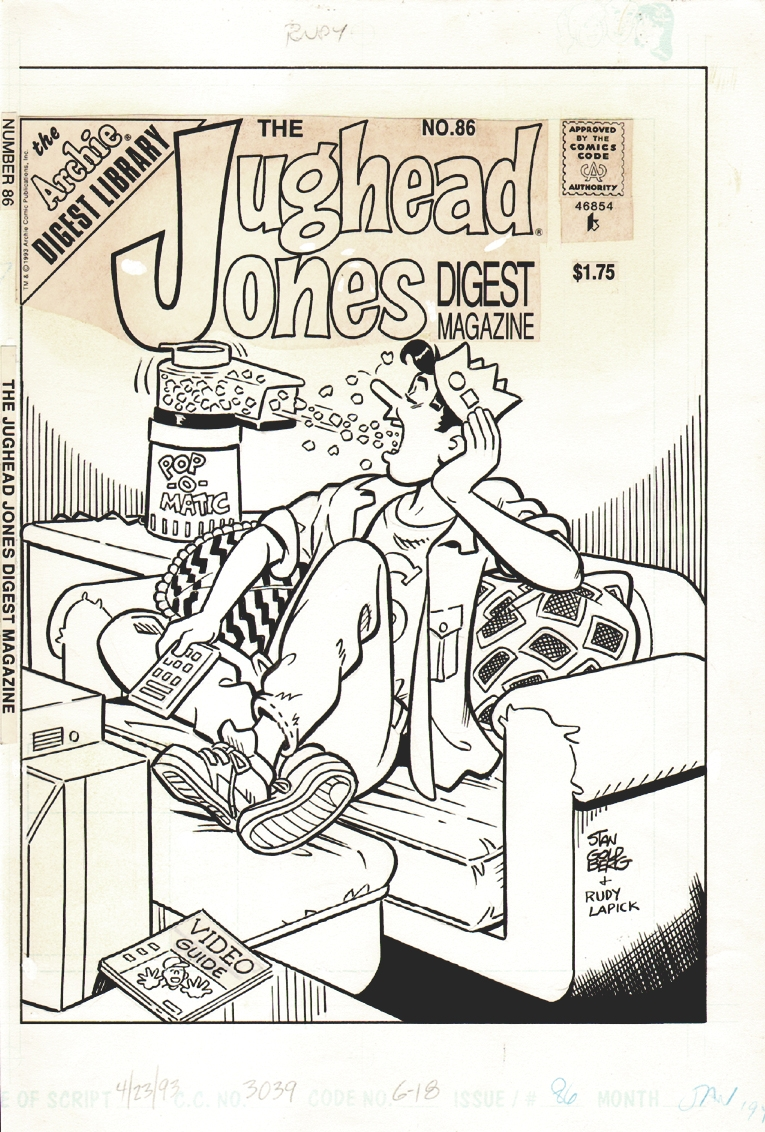 Jughead Jones Digest #86 Cover